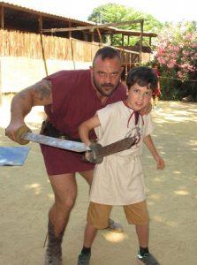 Школа для гладиаторов в Риме для детей и взрослых с русским гидом